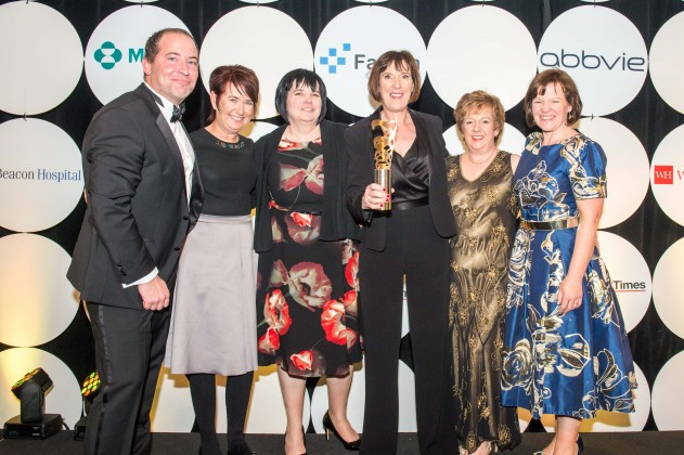 Saolta University Health Care Group win Best Sustainable Healthcare Project at the 2016 Irish Medical Times Healthcare Awards