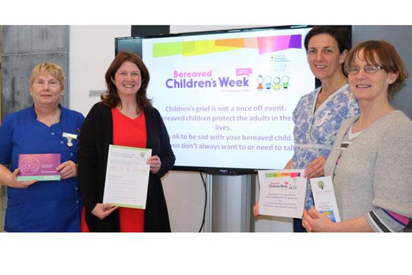 UHG mark Bereaved Children's week 2016
