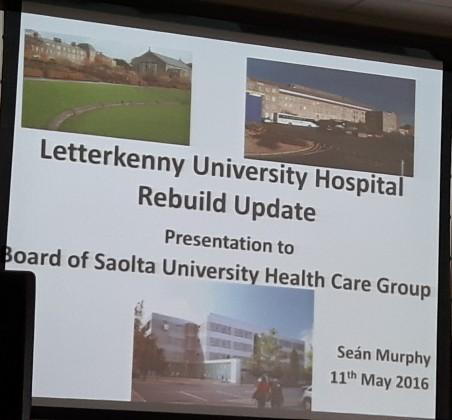 Saolta Public Board Meeting - Letterkenny University Hospital