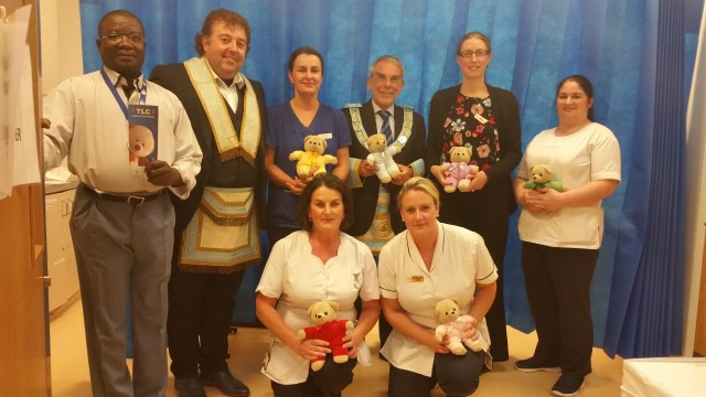 """Teddies for Loving Care"" donation to Roscommon University Hospital"