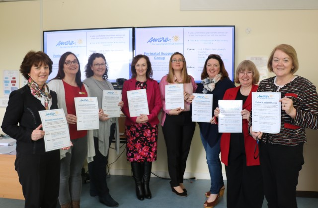 UHG in conjunction with AWARE offer free Perinatal Support Group Sessions in Galway