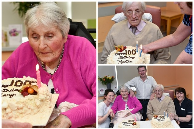 Centenarian celebrations at University Hospital Galway