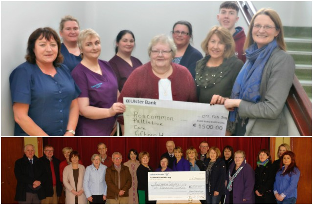 Cheque presentation to Palliative Care Services, Roscommon University Hospital