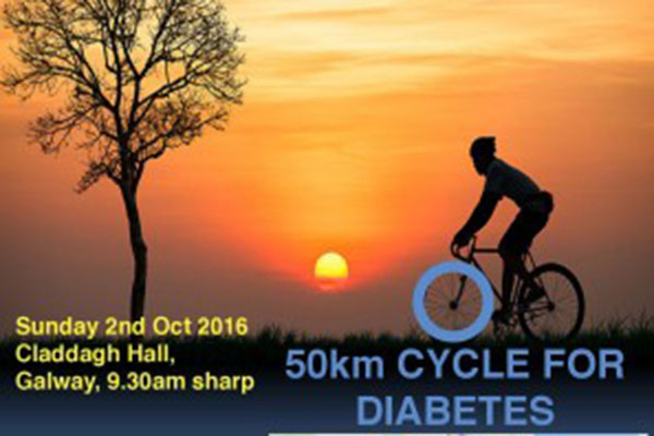 Cycle for Diabetes - Sunday 02 October 2016