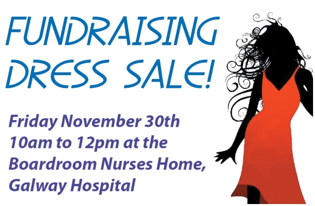 Fundraising Dress Sale to support GUH Arts Trust