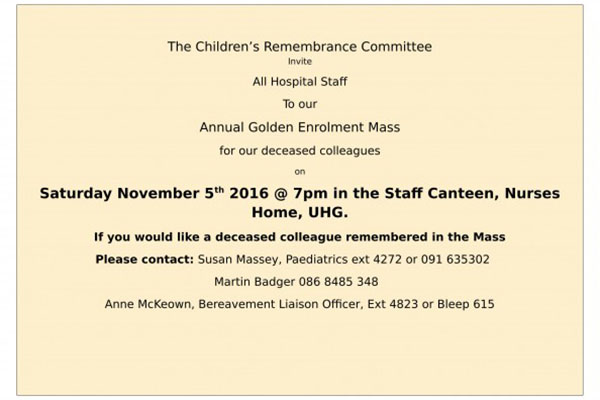 Annual Golden Enrolment Mass