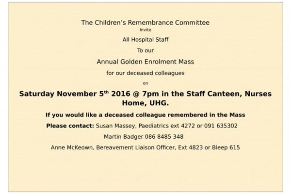 Annual Golden Enrolment Mass