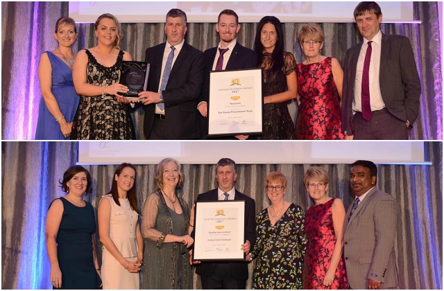 Galway University Hospitals - Winners at the Saolta Staff Recognition Awards