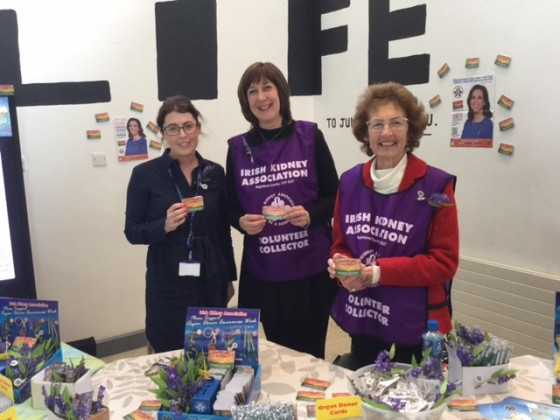 Organ Donation Week at University Hospital Galway