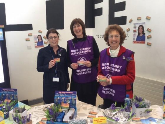 Organ Donation Week at University Hospital Galway