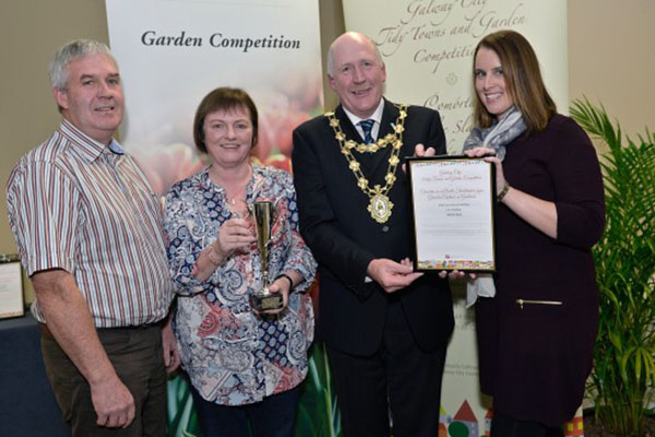 Merlin Park University Hospital wins Galway City Tidy Towns and Garden award