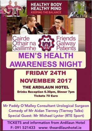 Cairde Othair na Gaillimhe Men's Health Awareness Night