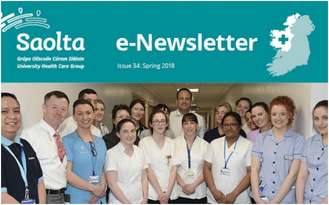 Saolta e-Newsletter issue 34 Spring