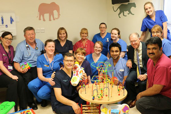 New Dedicated Paediatric Area opens in UHG