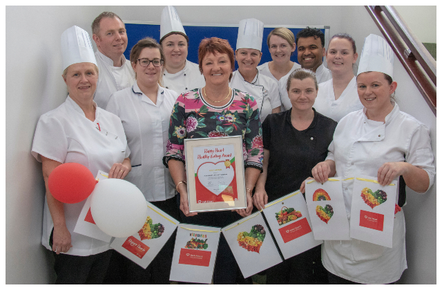 Roscommon University Hospital awarded Gold Happy Heart Award