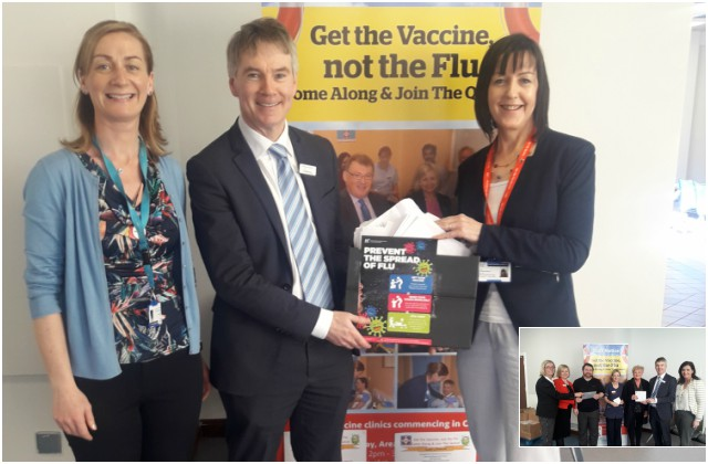SUH Flu vaccine prize winners