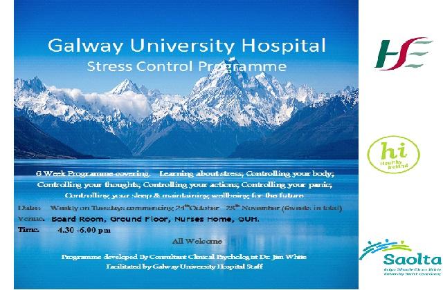 Galway University Hospitals Stress Control Programme