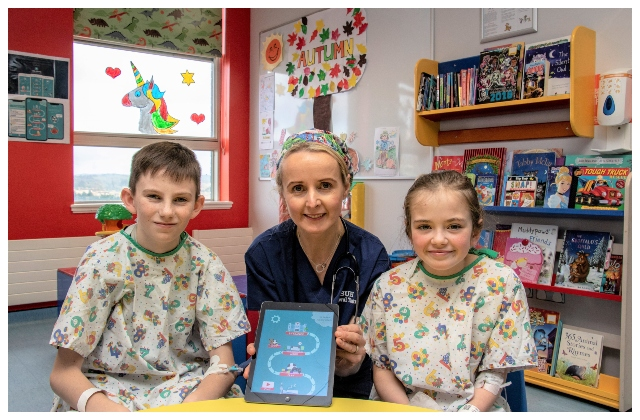 Sligo University Hospital launches unique 'Little Journey' app for children