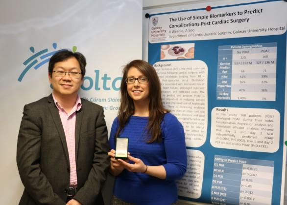 Cardiothoracic team at University Hospital Galway win prestigious Sylvester O'Halloran award