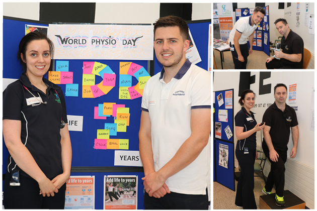 UHG marks World Physiotherapy Day