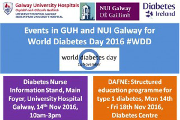 World Diabetes Day - 14 November 2016