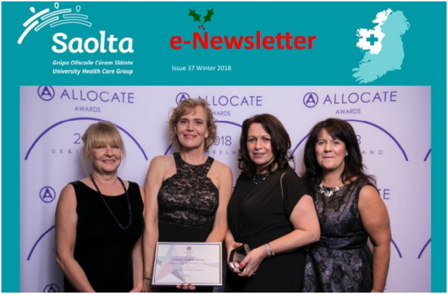 e-saolta Newsletter Issue 37 Winter 2018