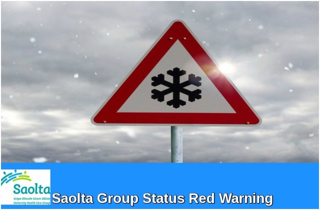 Sligo University Hospital statement relating to Status Red weather warning