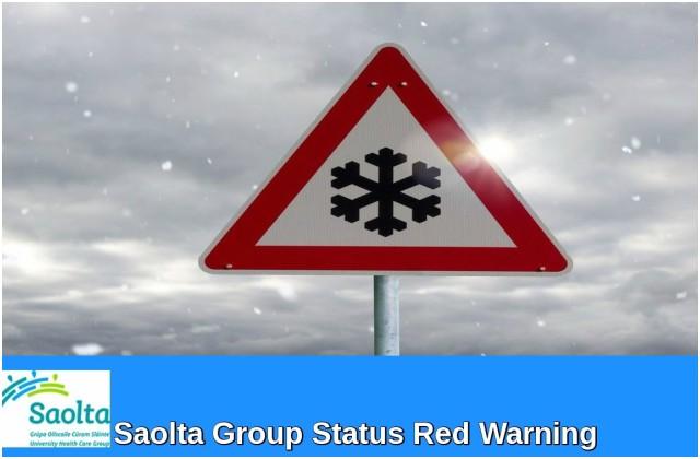 Letterkenny University Hospital statement relating to Status Red weather warning