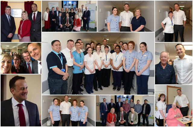 An Taoiseach Leo Varadkar opens 75 bed ward block at UHG