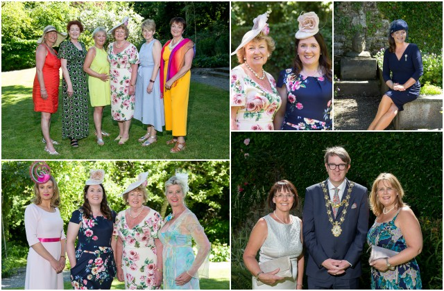 Sun shines for afternoon garden tea party benefiting the arts programme at GUH