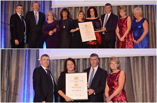 LUH - Winners at the Saolta University Health Care Group Staff Recognition Awards