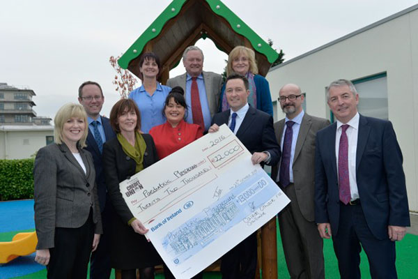 New Playground at Paediatric Department University Hospital Galway