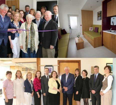 RTÉ Sports Broadcaster Michael Lyster Officially Opens new Family Room in Portiuncula University Hospital, Ballinasloe