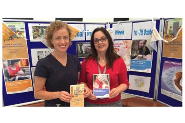 Saolta staff mark Breastfeeding week