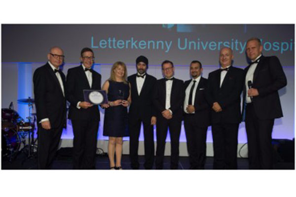 Letterkenny University Hospital scoops two awards for e-rostering project
