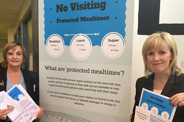 Galway University Hospitals implement Protected Mealtimes policy
