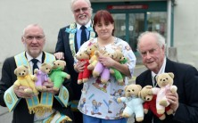 """Teddies for Loving Care"" donation to Galway University Hospitals"