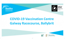 COVID-19 vaccinations continue at Galway Racecourse Vaccination Centre, Ballybrit