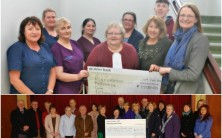 Cheque presentation to Palliative Care Services, Roscommon University Hospital