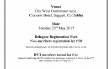 Infection Prevention Control Ireland (IPCI) Annual Conference 2017
