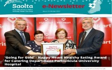 Saolta e-Newsletter Issue 33 Winter 2017