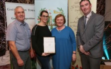 MPUH win Galway City Tidy Towns and Garden award for a second time
