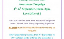Putting Children First Awareness Campaign SUH
