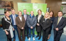Sligo University Hospital unveil 'bench project' as part of Health and Wellbeing initiative
