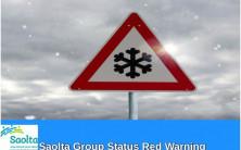 Sligo University Hospital statement relating to Status Red weather warning